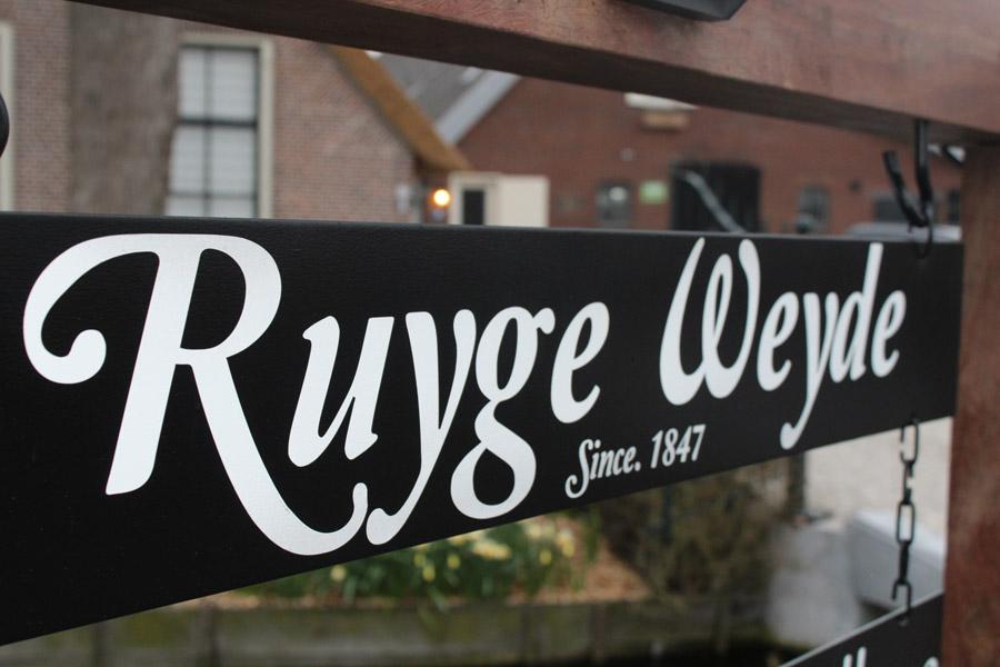 Ingang Ruyge Weyde